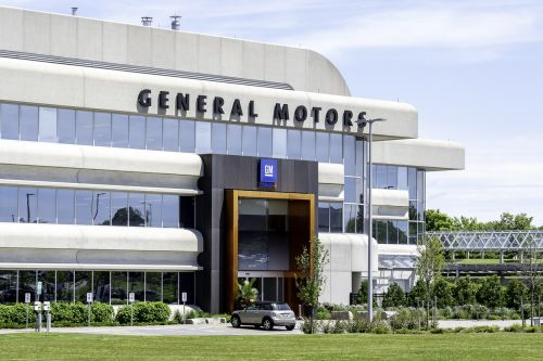 GM Vehicle manufacturer
